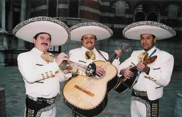 Latin band Mariachi Mextecca
