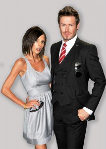 posh and becks look a like